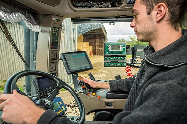 Témoignage conducteur d'engins travaux agricoles