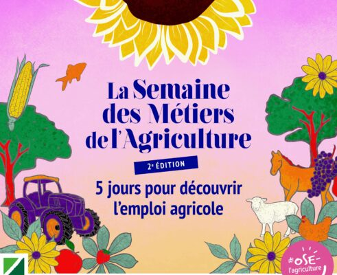 semaine des métiers de l'agriculture en BFC